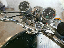 NORTON COMMANDO & ATLAS OIL PRESSURE GAUGE KIT ILLUMINATED