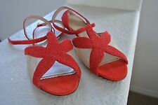 Charlotte Olympia Starfish Red Sandals Size 39 seen on Reese Witherspoon