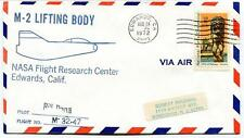 1972 M-2 Lifting Body - Bill Dana - Flight Research Center Edwards NASA