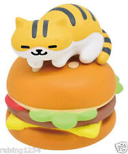 BANDAI Neko Atsume Kitty Collector Double Jack Earphone (Breezy Burger Cushion)