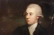 Fantastic Follower of Thomas Gainsborough 18th Century Oil Painting Portrait