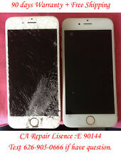 "iPhone 6 Plus 5.5"" Broken Cracked Screen LCD Digitizer Touch Repair Service"