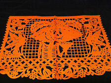Mexican Day of the Dead Halloween Decoration Skeleton 4 Tissue Paper Cuts/Scenes