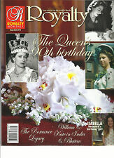 ROYALTY MONTHLY  MAGAZINE, THE QUEEN'S 90th BIRTHDAY    MAY / JUNE, 2016