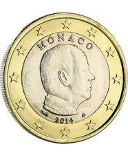 Pièce de 1 euro Monaco 2014.