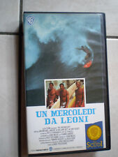 LIBRETTO WORLD COLLECTION + VHS UN MERCOLEDI DA LEON PIV 61182 drammatico 1989