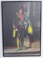 Poster Leinwandbild Prinz Druck und bemalt - Selten