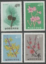 South Korea. 1965 Korean Plants. MNH