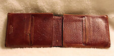 Vintage Buxton Genuine East Indian Calf Leather Wallet Made in Canada