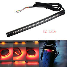 FEU ARRIERE BANDE LED STOP CLIGNOTANT signal strip light moto phare CUSTOM BIKE