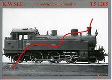 Dampflok K.W.St.E. T5 1205 AK (*6928)