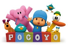 "Pocoyo Iron On Transfer 4.5"" x 7"" for LIGHT Colored Fabric"