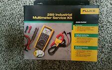 Fluke 289/IMSK Industrial Multimeter service Kit w i400 amp clamp.   BRAND NEW