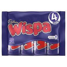 ***British Chocolate ****Cadbury Wispa 4 pack of chocolate bars 4x 33.8g