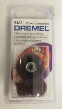 Dremel 512E Finish 320-Grit Sanding Abrasive Buff for EZ402 Lock Mandrel, 2-Pack