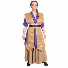 Female Jedi Librarian Star Wars Halloween Cosplay Tunic Set Sith Custom Costume