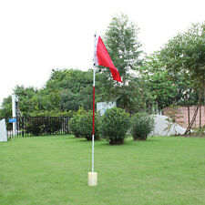 Practice Golf Hole Pole Cup Flag Stick Backyard Putting Green Flagstick Golfer
