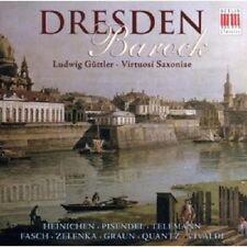"""LUDWIG GÜTTLER """"DRESDEN BAROCK"""" CD NEU"""