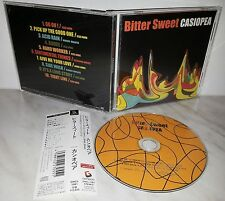 CD CASIOPEA - BITTER SWEET - JAPAN GNCL-1081