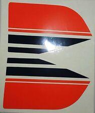 Tankaufkleber Abzugsatz li. u re.Rot Weiß Blau Puch Daytona Imola Cobra 80 Fahrw
