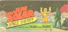 JIM SOLAR SPACE SHERIFF MEETS MAN FROM MARS WISCO VITAL PROMO GIVEAWAY RARE VFNM
