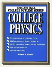 College Physics (Harcourt Brace Jovanovich College Outline Series)-ExLibrary
