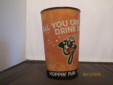 "1  Greensboro Grasshoppers ""All You Can Drink Soda""  32 oz Plastic cup"