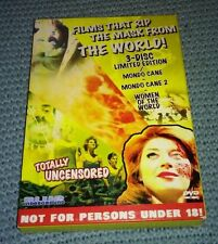 Shockumentaries Vol.1: Films that Rip the Mask from the World (DVD;3 disc) NEW