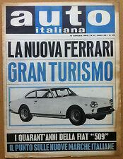 Auto Italiana - 1964 n° 3 - Ferrari 330 GT - FIAT 509 - Abarth - meccanica corse