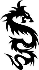 tribal dragon vinyl car van boat sticker graphics decal silhouette wall art fun