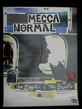 Mecca Normal the Eagle & the Poodle original in store promo poster!