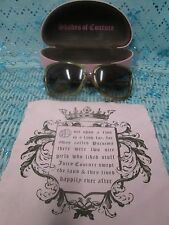 JUICY COUTURE WOMENS SUNGLASSES WITH CASE AND CLOTH