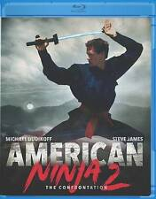 American Ninja 2 - The Confrontation (Blu-ray Disc, 1987) MICHAEL DUDIKOFF