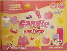 Science4You ~ CANDELA FACTORY KIT ~ 16 esperimenti & 36 pagina LIBRO EDUCATIVO