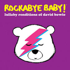 LULLABY RENDITIONS OF DAVID BOWIE Rockabye Baby! CD
