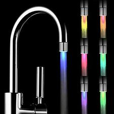 Romantic 7 Color Change LED Light Shower Head Water Bath Home Bathroom Glow Y3