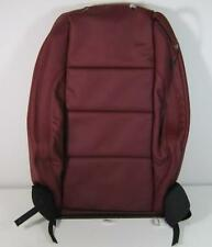 NEW GENUINE VW EOS LEFT FRONT RED LEATHER SEAT BACKREST COVER - 1Q0 881 805 DP