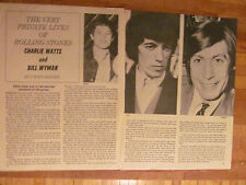 The Rolling Stones, Two Page Vintage Clipping