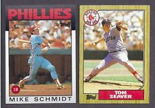 1986 1987 TOPPS COMPLETE YOUR SET & TRADED & ALL STARS 20 PICKS