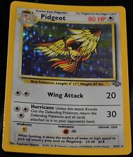 Holo Foil Pidgeot # 8/64 Original Jungle Set Pokemon Trading Cards Rares SP