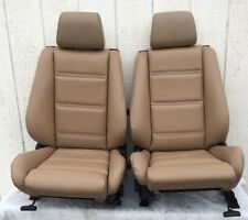 BMW e30 325i 318i Convertible Front Sport Seat Pair 1987-92 in Tan $$1000.00