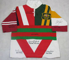 IMMORTALS HIGHLY RARE TEAM Jersey Hand Signed by 8 Beetson,Lewis,Gasnier,Johns