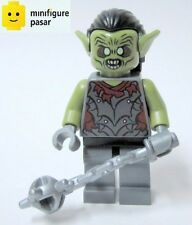 lor011 Lego The Lord Of The Ring 9473 - Moria Orc Olive Green Minifigure - New