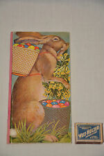 Osterhäschen libro illustrato per 1925 lepri Antique Picture Book Rabbit Easter Bunny