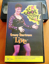 SIX FOOT SILLY & SEXY - TRACY BARTRAM LIVE - VHS