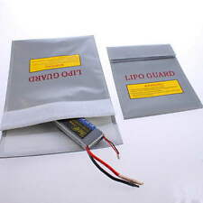 Hot 18x23 RC LiPo Li-Po Battery Fireproof Safety Guard Safe Bag Charging Sack FE