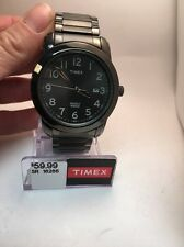 Timex T2P135, Men's Gray Dress Expansion Watch, Indiglo, Date, T2P1359J-HU
