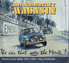 Motorhistoriskt Magasin Swedish Car Magazine #1 2006 Monte Carlo 031617nonDBE