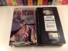 Nowhere To Hide Survival Action Thriller VHS 1987 Amy Madigan Daniel Hugh Kelly