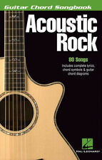 Acoustic Rock Guitar Chord Songbook 80 Songs! Book NEW!